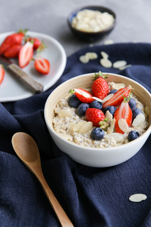 Porridge overnight   Recette porridge, Stylisme culinaire