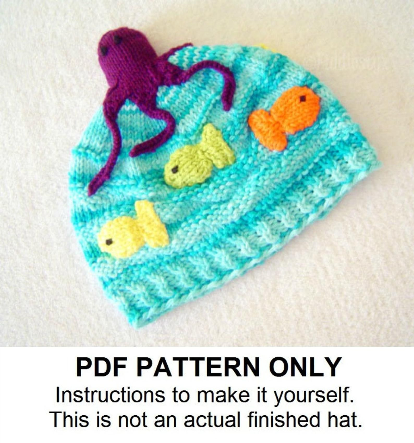 Baby Snow Suit Hat Cap 6-12 mos This is a pattern and//or instructions to make the item only. Vintage Knitting PATTERN to make NOT a finished item