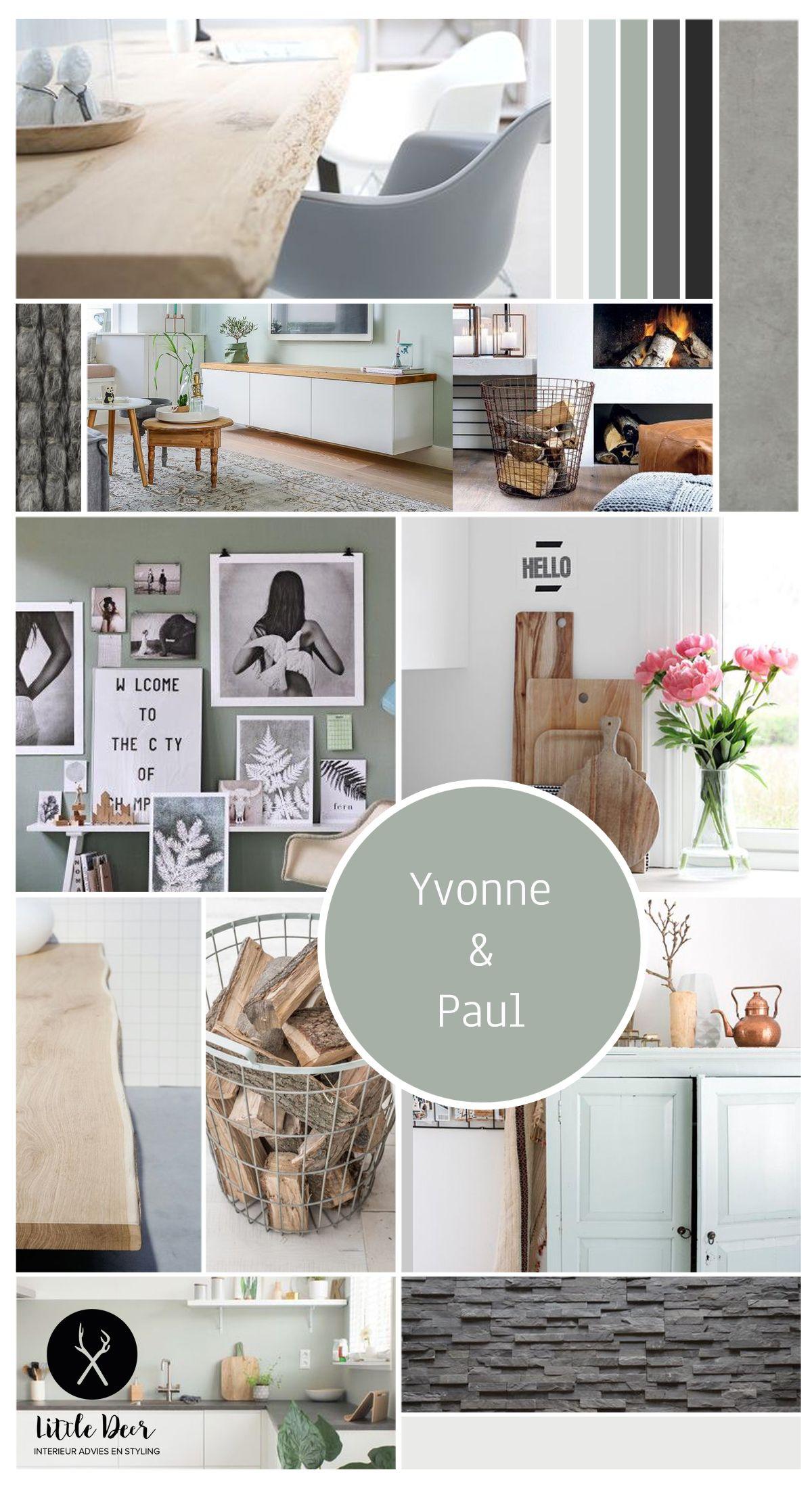 Project Warmenhuizen, een interieuradvies voor woonkamer, keuken en ...