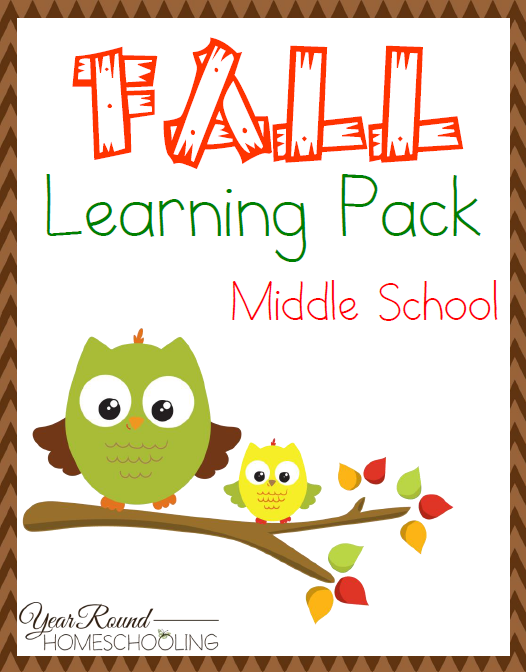 Free Fall Themed Middle School Learning Pack Otoo Escuela