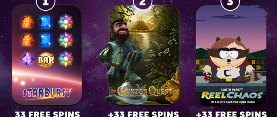 Netent Free Spins Today