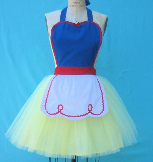 Disney Retro Princess Apron Sflea4XAr