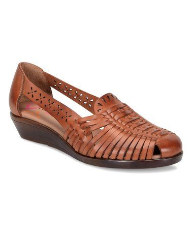 This Rust Fairfax Leather Sandal Is Perfect Zulilyfinds