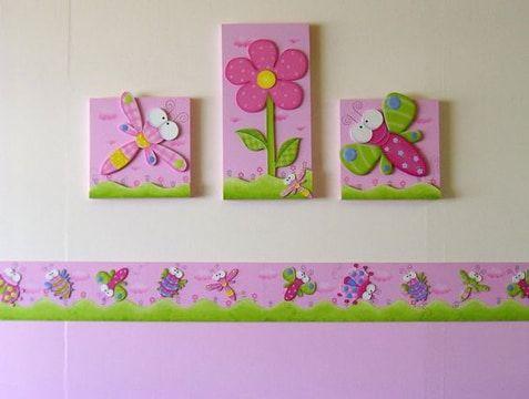 Pin de Gloria Vilmac en Dormitorio bebe | Pinterest | Cuadros para ...