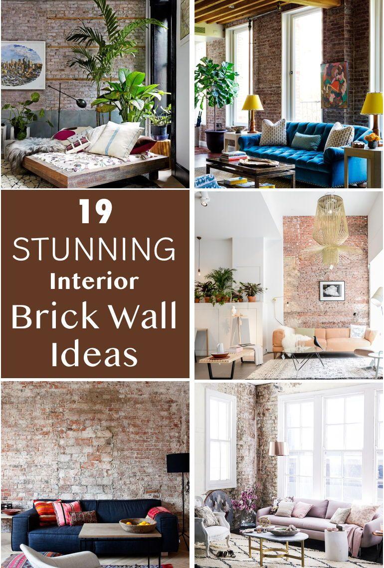 19 Stunning Interior Brick Wall Ideas Diy All Things Diy