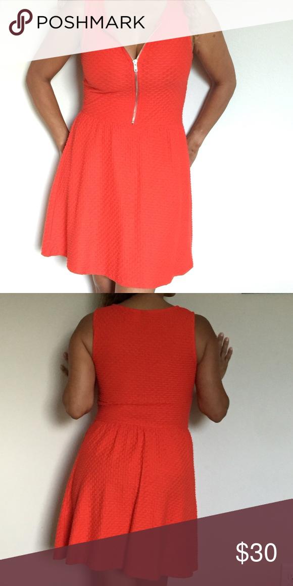 Divided H&M Dress Cute orange dress from H&M H&M Dresses