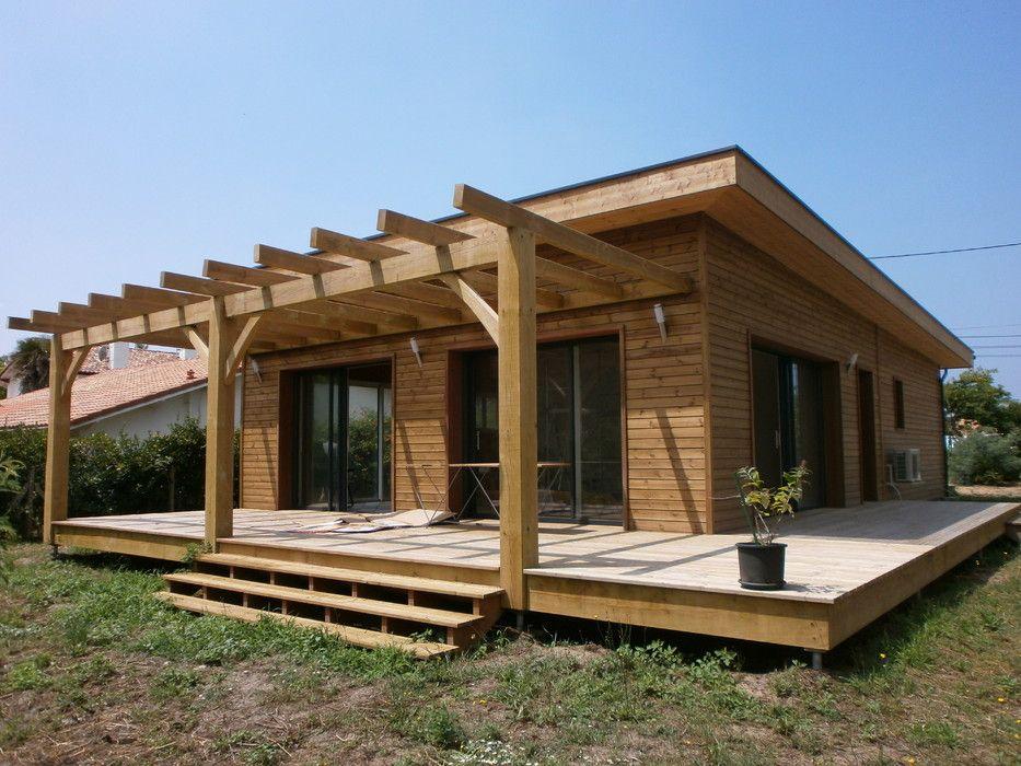 Prix National De La Construction Bois Panorama A Deux Pas Du Lac Maison Prefabriquee Maison Bois Maison Prefabriquee Bois