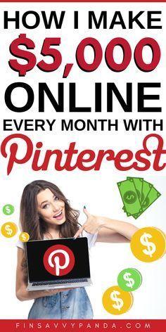 So verdienen Sie mit Pinterest von zu Hause aus Geld. Noch vor einem Jahr habe ich …   – Goals