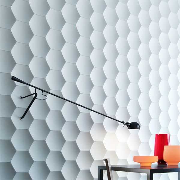 3d panels #wall #white