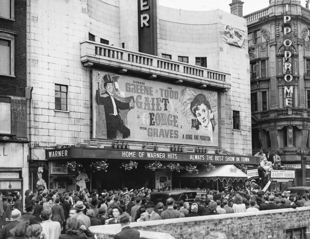Warner West End Now Vue Leicester Square London 1946