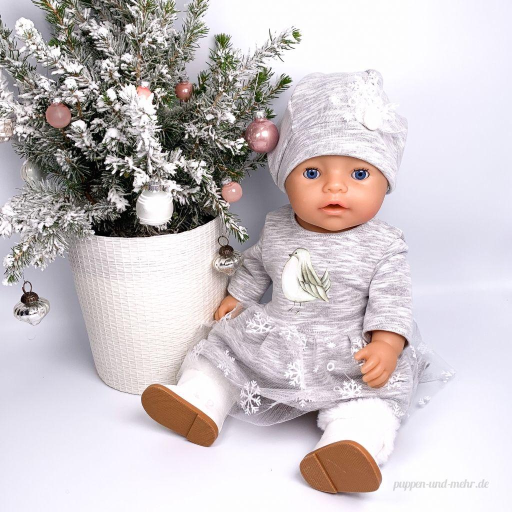 Freebook für ein Kleid (FleeceFun) und eine Mütze (RosaRosa)