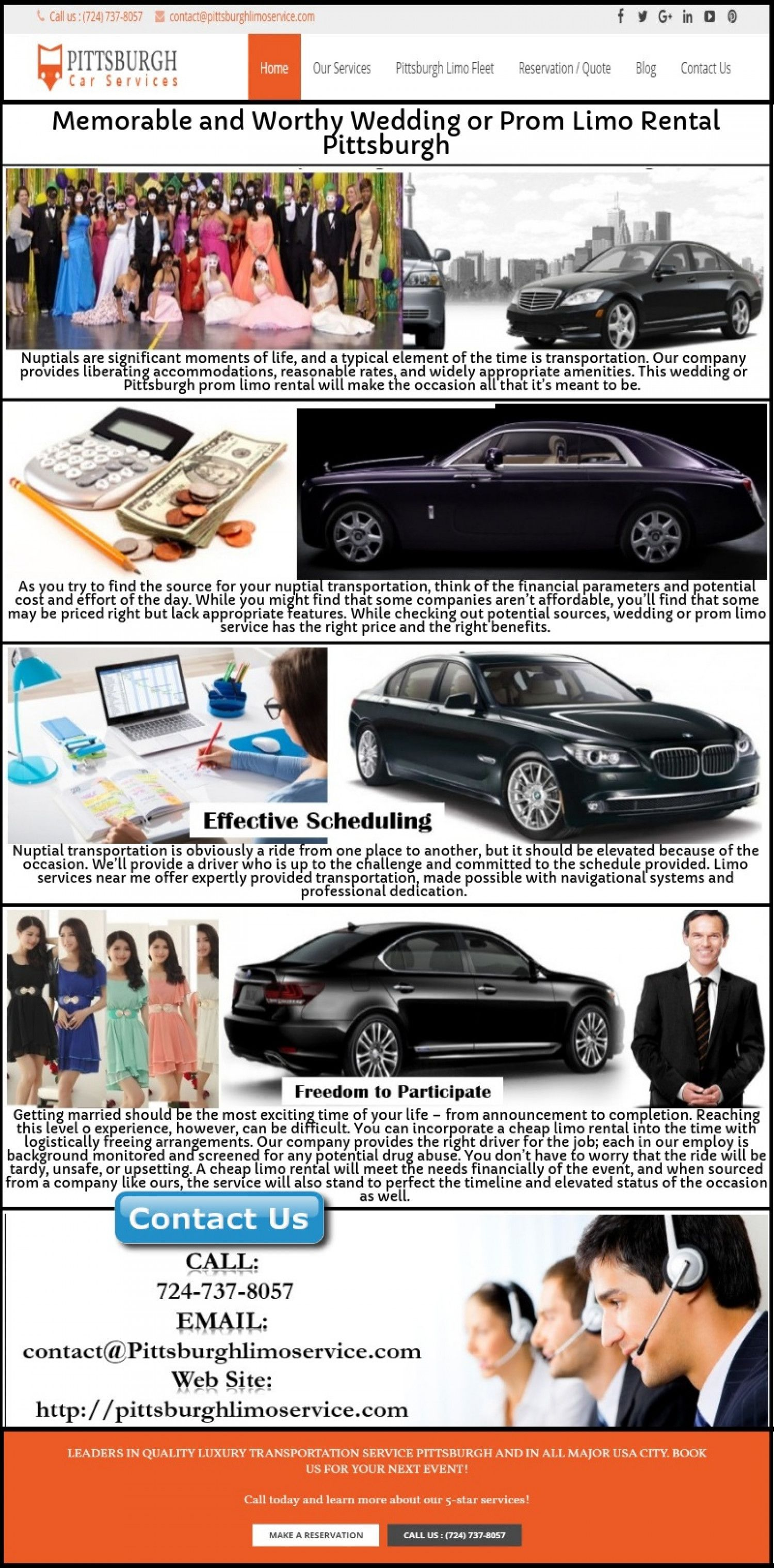Memorable and Worthy Wedding or Prom Limo Rental