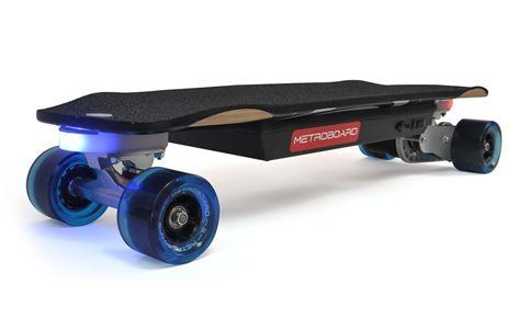 "Metroboard Micro Slim Electric Skateboard - 6.8kg, 29"" (74cm), 16km range, 600W, USD1099 (S$1,500)"