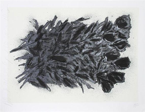 Donald Sultan, Black Roses