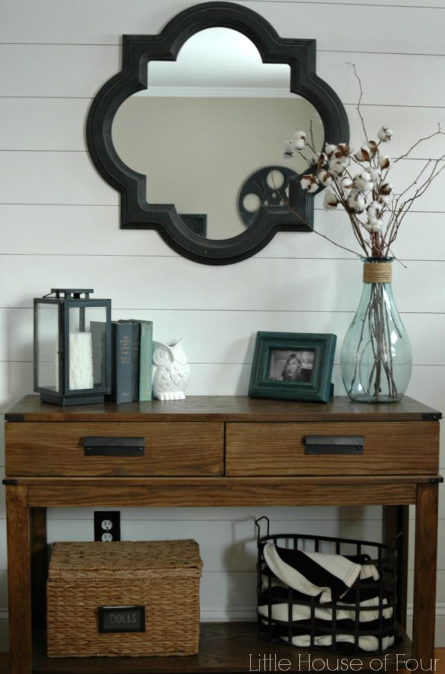 A DIY tutorial for creating a plank wall that completely transforms a room.
