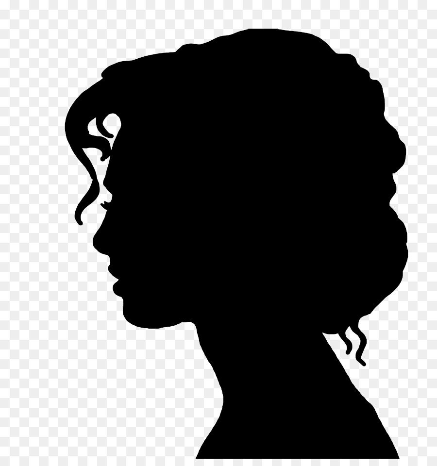 Victorian Era Silhouette Female Woman Drawing Woman Face Png Is
