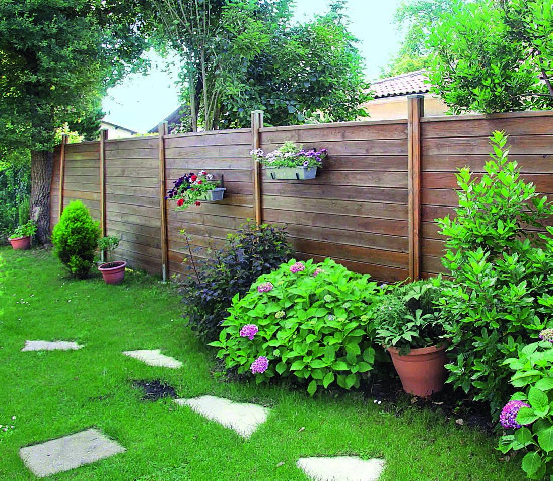 Tutoriel Comment Poser Une Palissade En Bois En 2020 Amenagement Jardin Cloture Cloture Jardin Bois Panneau Bois Jardin