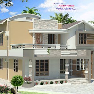 4 Bedroom Beautiful Home Design With Free Floor Plan Free Kerala Home Plans Kerala House Design Duplex House Design House Design