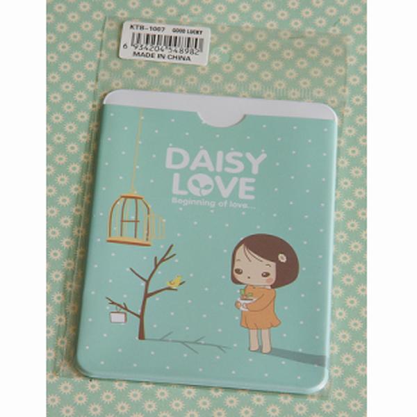 Card Holder - Daisy Love Green