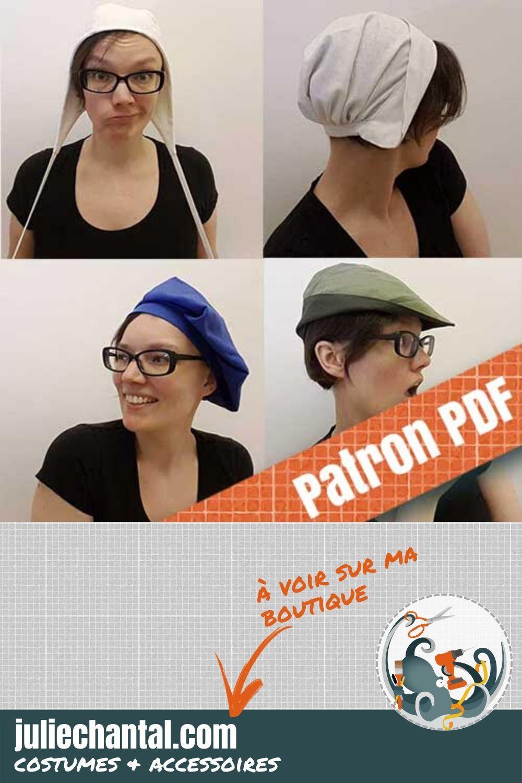 patrons chapeau style medieval patron