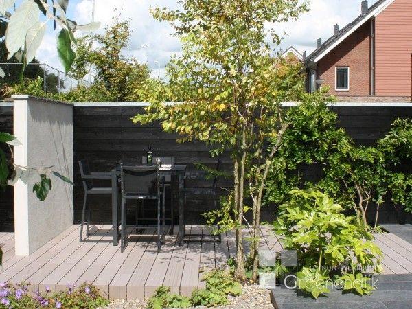 Moderne tuin in reeuwijk outside moderne tuin en tuin