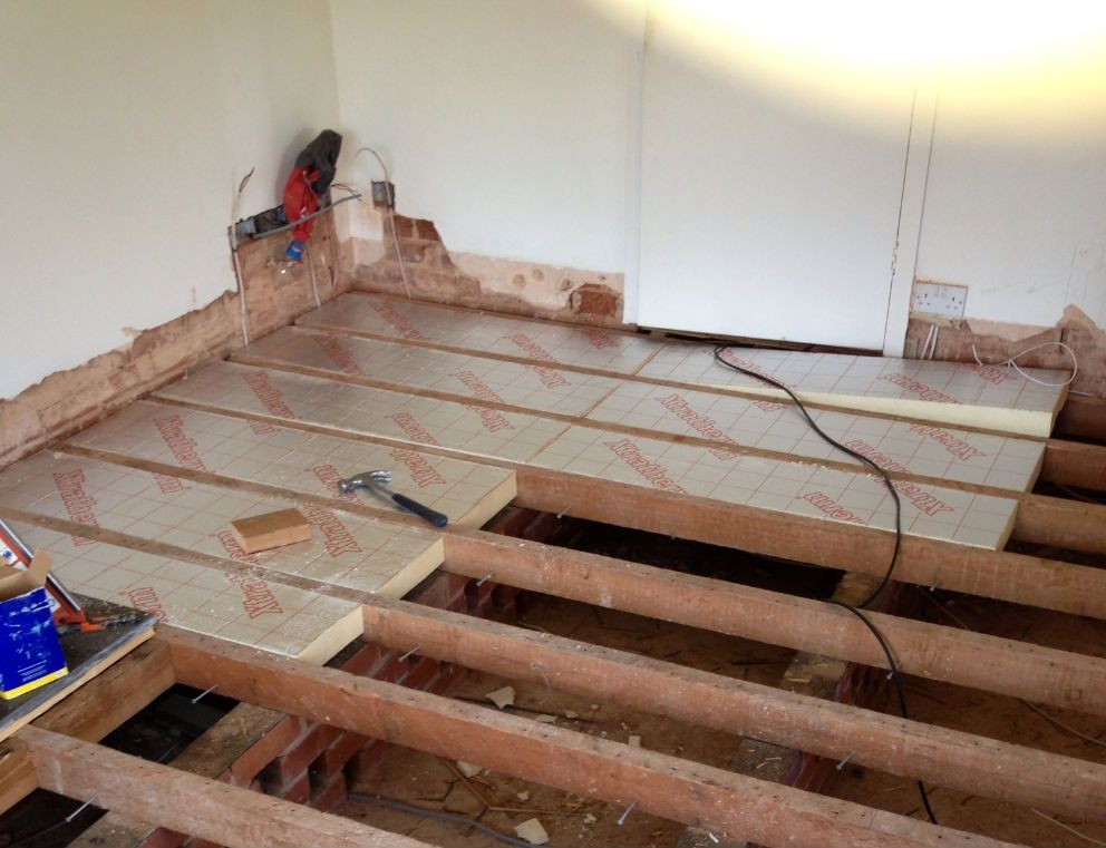 Tell Me About Insulating Under Floor Boards Please Floor Insulation Insulated Garden Room Shed Floor
