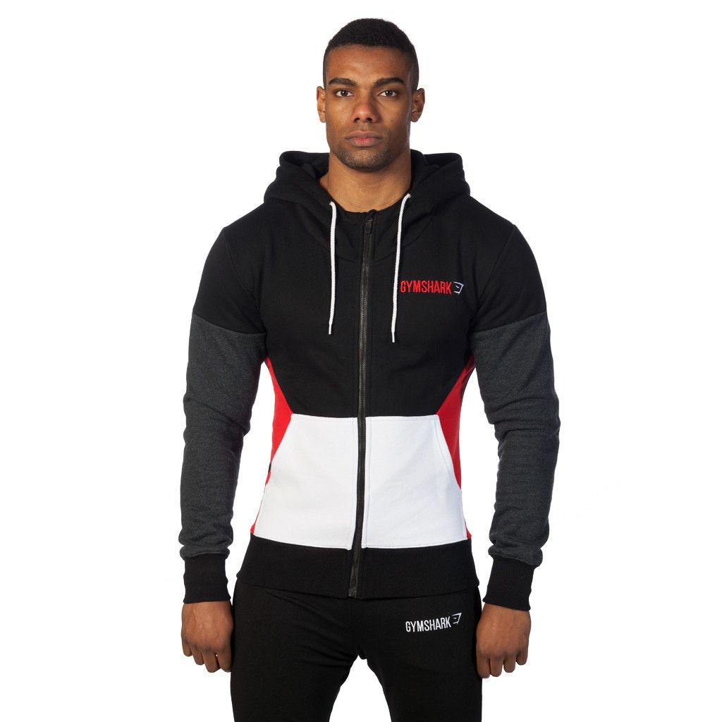 GymShark Fit Frontier Thermal Hoodie - Red Size Large (http://www.
