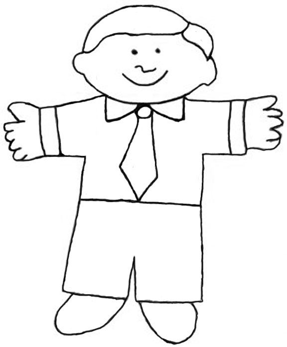Flat Stanley Template 8 Free PDF Download – Flat Stanley Template