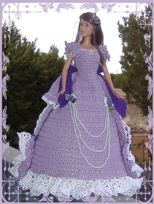 http://www.artfire.com/ext/shop/product_view/hollysdollies/3532205/crocheted_barbie_bed_doll_-_victorian_ladies_centennial_collection/handmade/dolls___miniatures/fashion_dolls/other