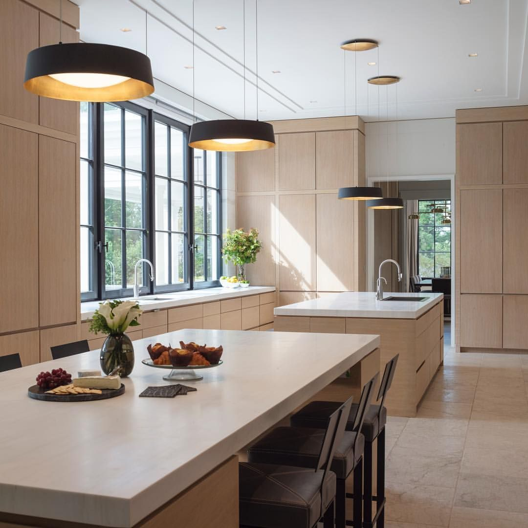 "This kitchen boasts 12"" ceilings and floor to ceiling ..."