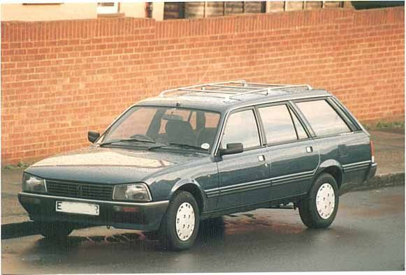 Image result for peugeot 505 estate dark green
