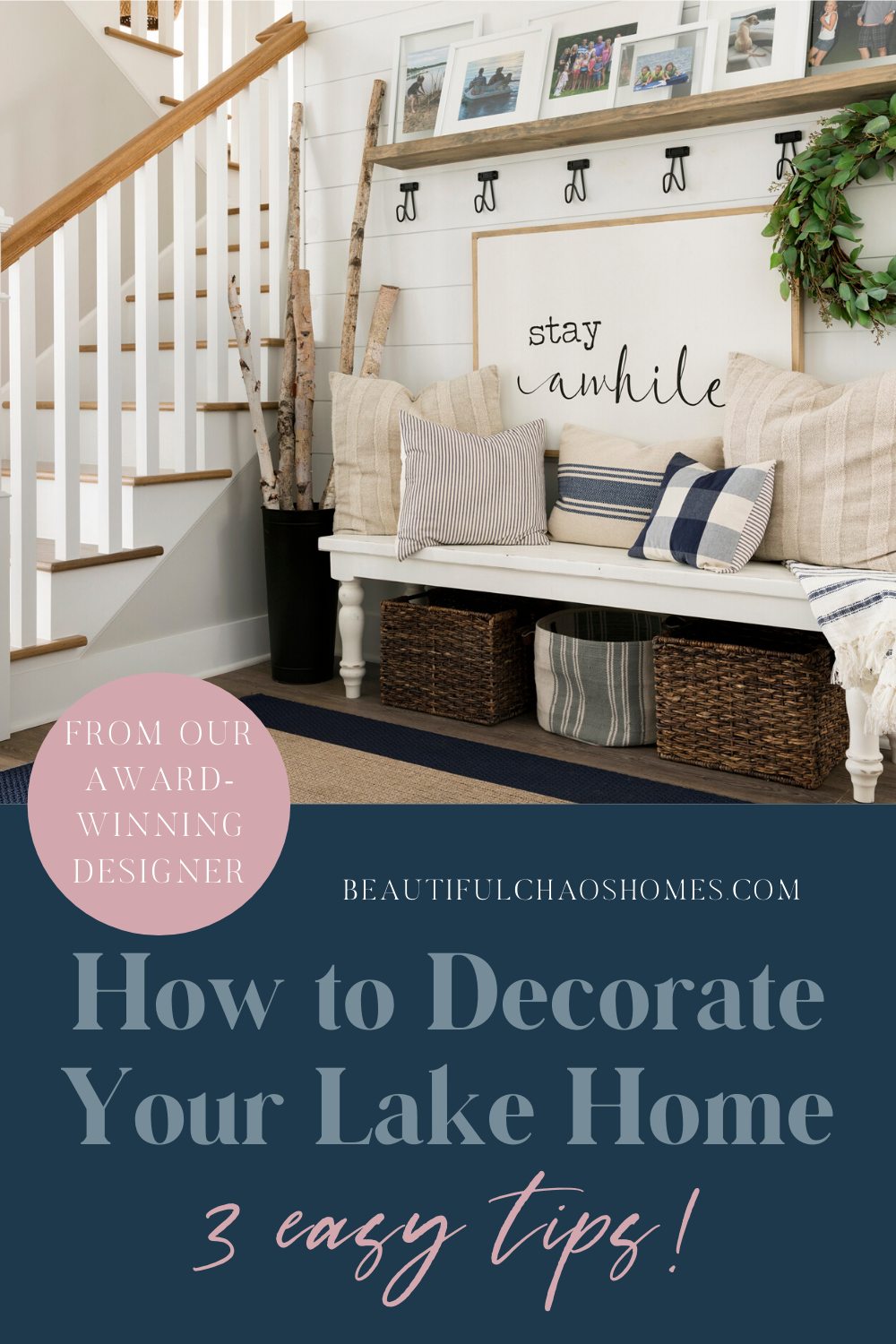 Photo of Tips to Decorate Your Lake House Entryway in Three Easy Steps