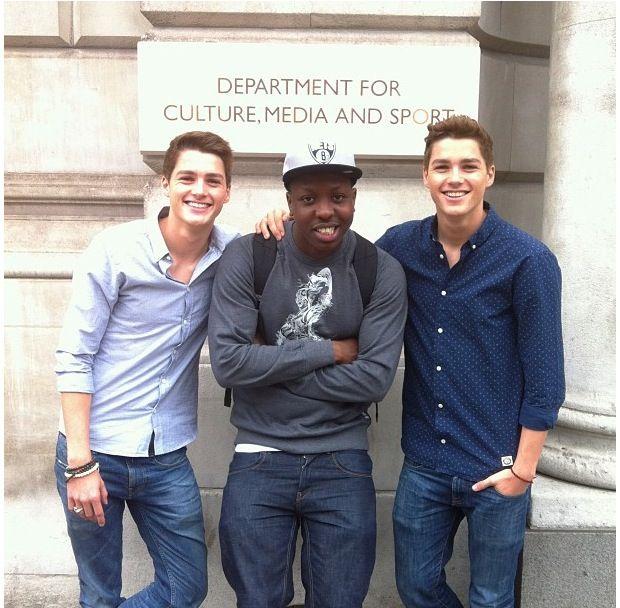 Jack and Finn today :) | Jack finn, Finn harries, Jack harries
