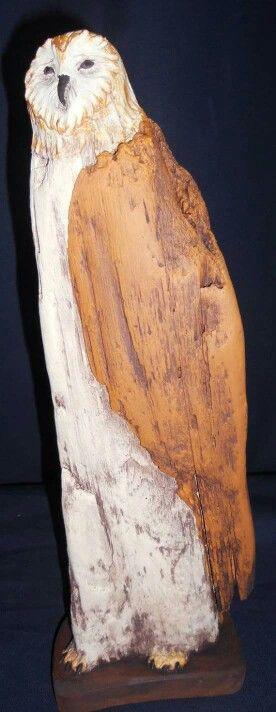 Drijfhout uil