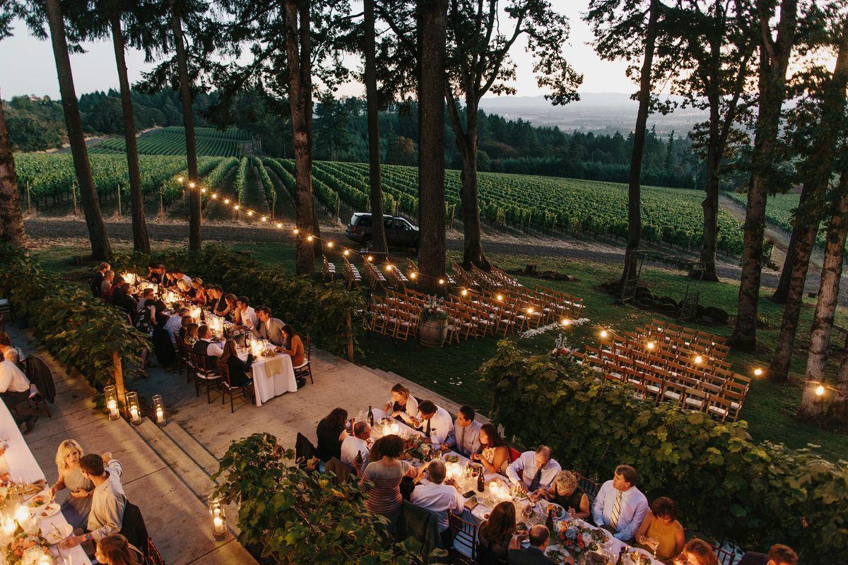 Maggie & Brian's Vista Hills Vineyard Wedding Oregon