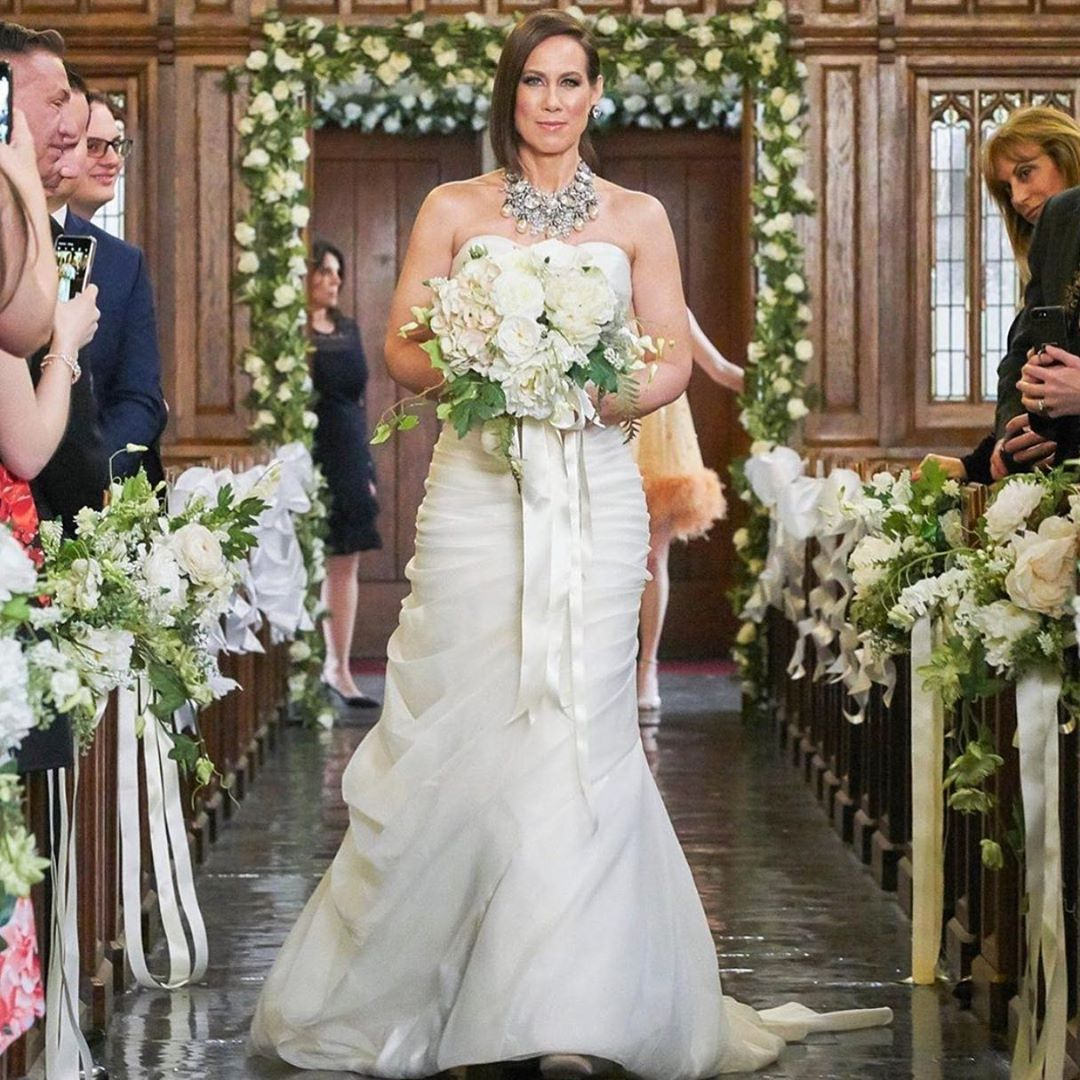 Pnina Tornai On Instagram When Pninatornai Style 4171 Walks Down The Aisle On Youngertv Happily In 2020 Aline Wedding Dress Ball Gowns Wedding Beach Wedding Dress