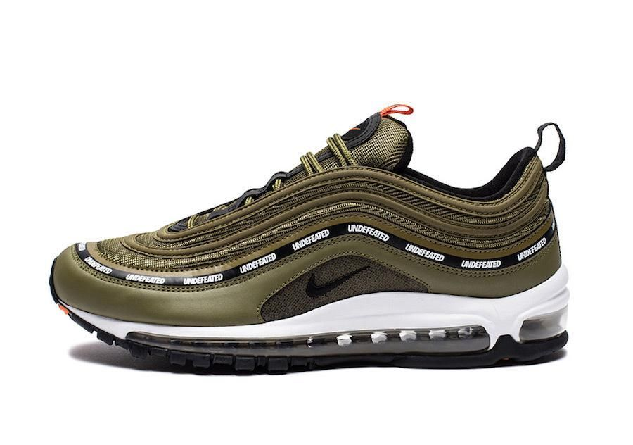 Undefeated Nike Air Max 97 Olive Release Date Sneaker Bar