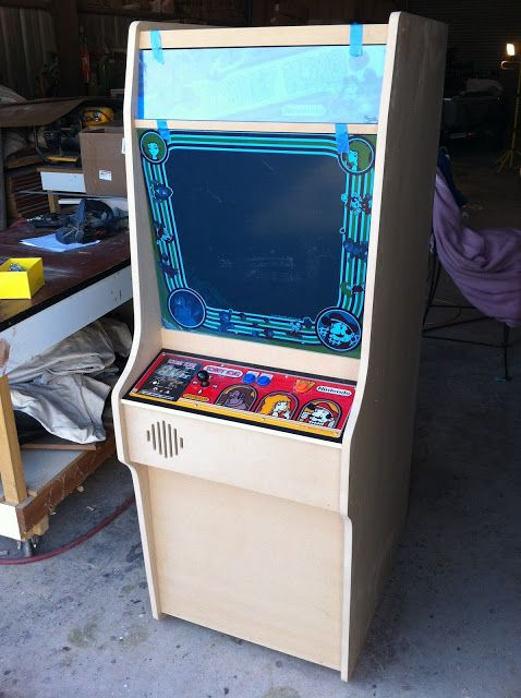 Project Donkey Kong Arcade How To Build Your Own Arcade Donkey Kong Projects