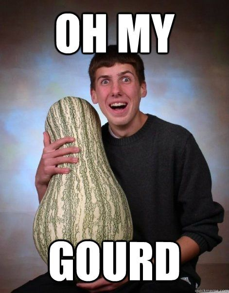 6025e49eaa31d1e534b4823c0203bc97 oh my gourd memes quickmeme jz pinterest gourds, quick meme