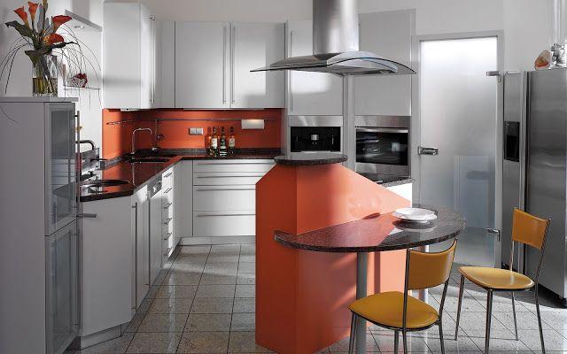 30 ideas de mesas y barras para comer en la cocina - Cocinas con - cocinas con barra