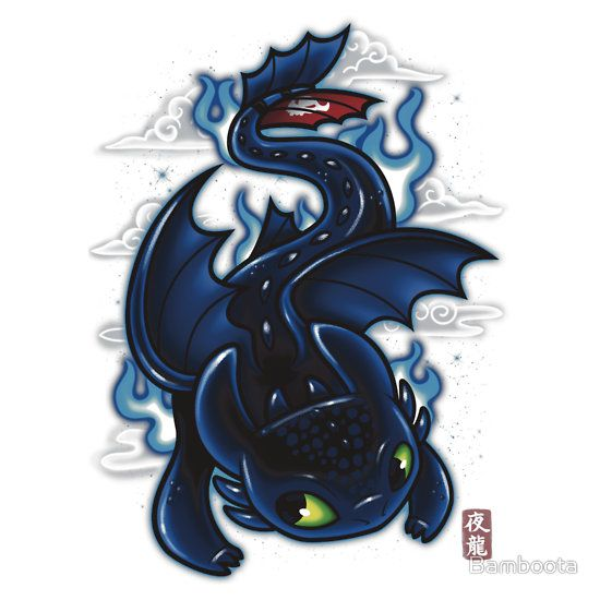 Night fury folklore how to train your dragon pinterest - Fury nocturne ...