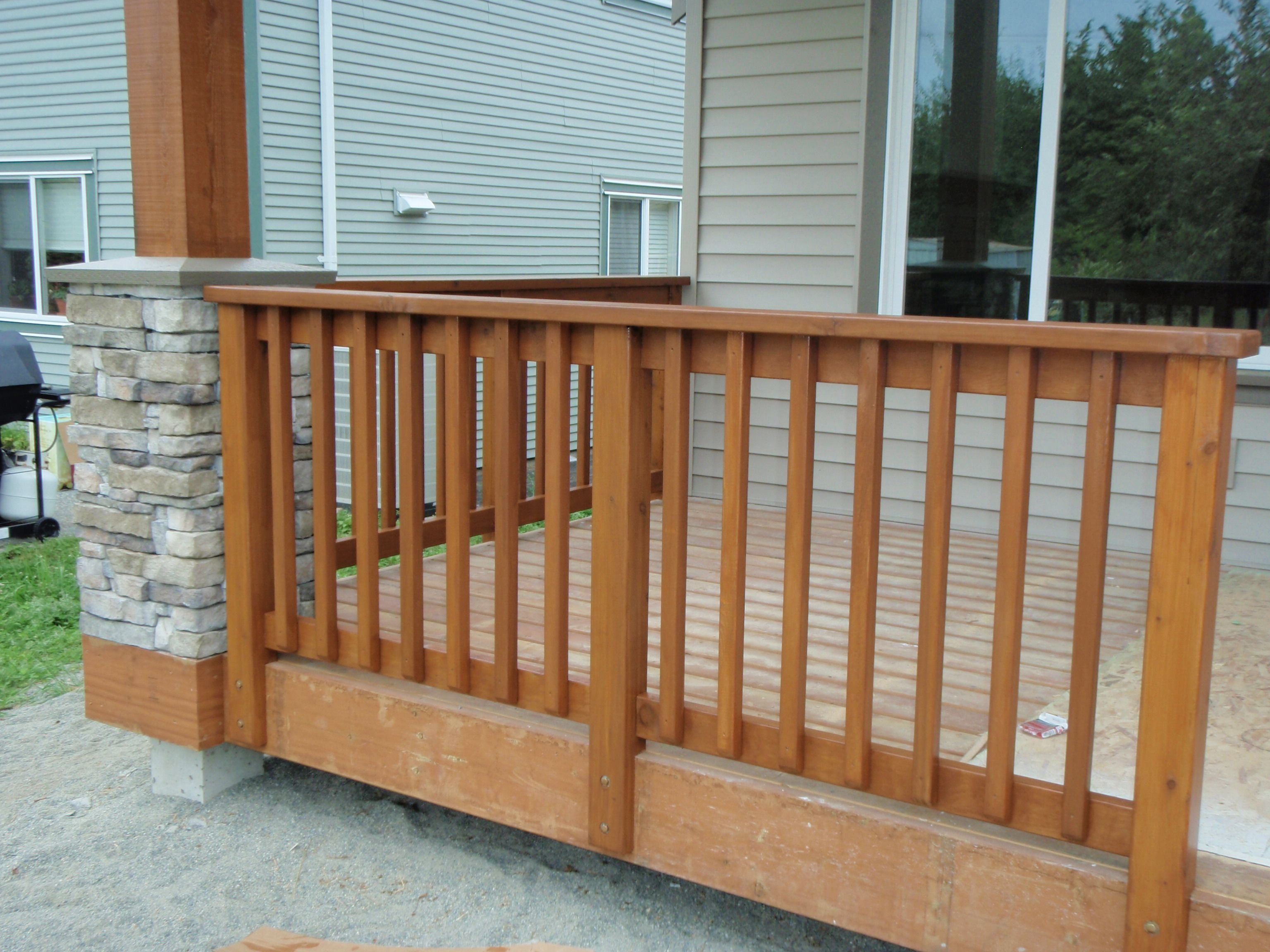Best Wood Deck Railings Yahoo Image Search Results Patio 400 x 300