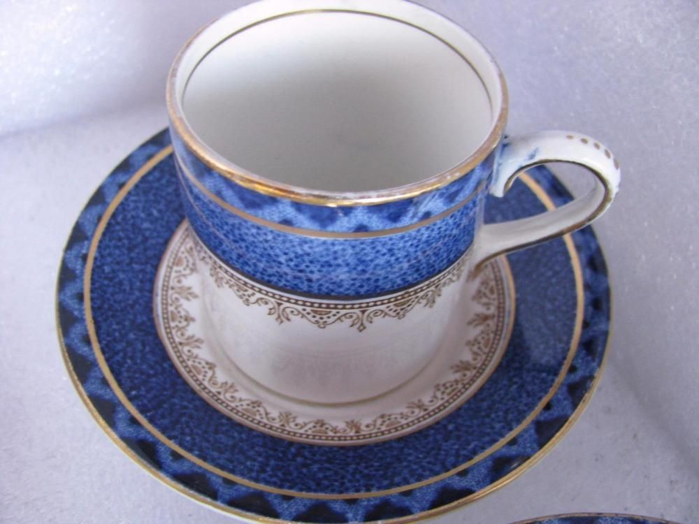 Booths Rodney4 Demi T Small Coffee Cups And Saucers