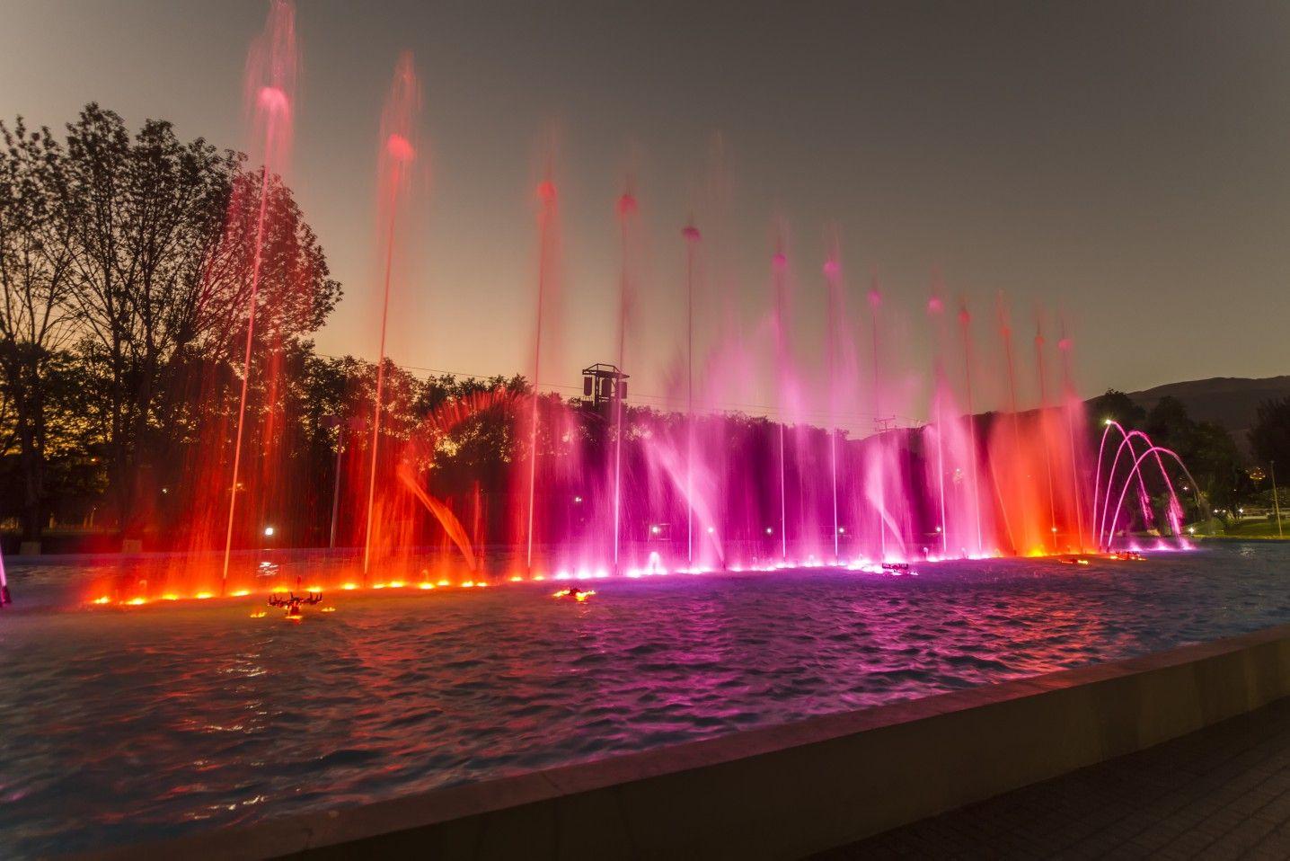 Parque De Aguas Danzantes Cochabamba Foto Direccion De Turismo Del Municipio Gamc Waterfall Outdoor Water