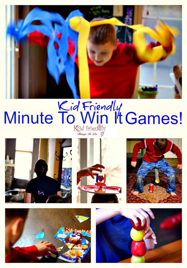 Over 13 Awesome Minute to Win It Party Games for Kids, Teens and Family to Play