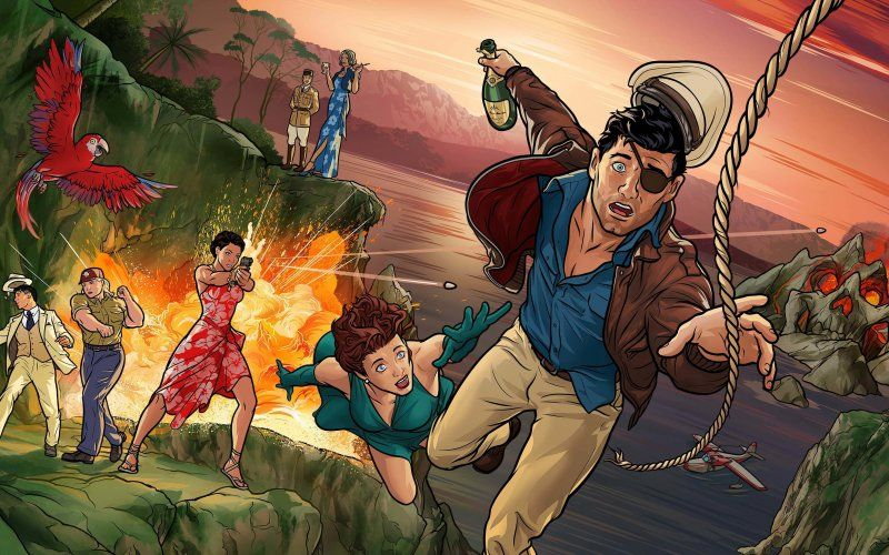 Wallpaper Animated Tv Show Sterling Archer Archer Archer Tv Show Sterling Archer Archer Season 9