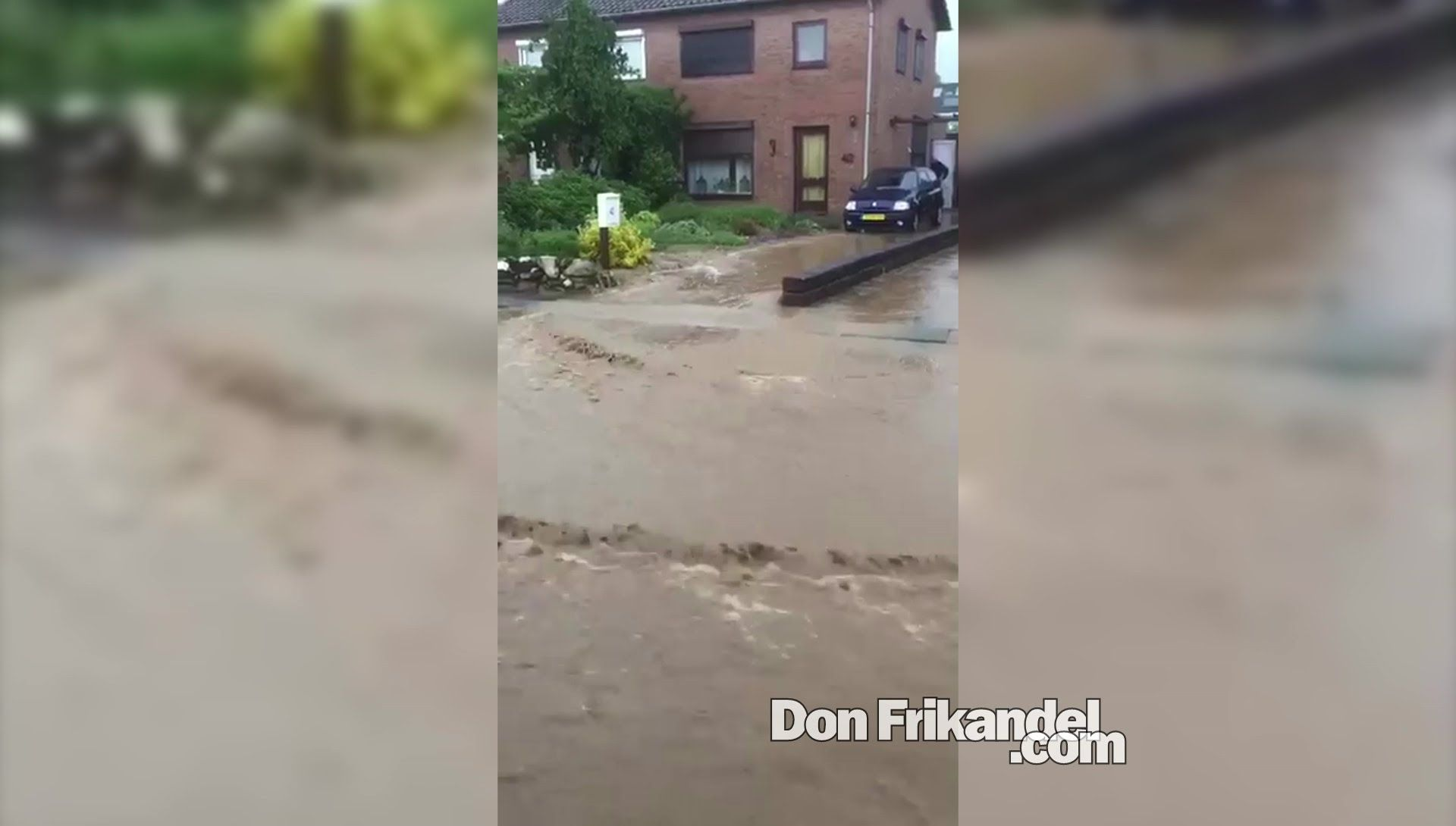 Noodweer in Nederland: Groesbeek