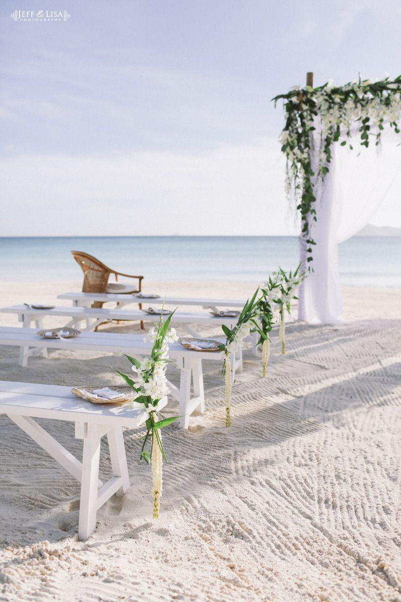 Amanpulo Wedding Ceremony