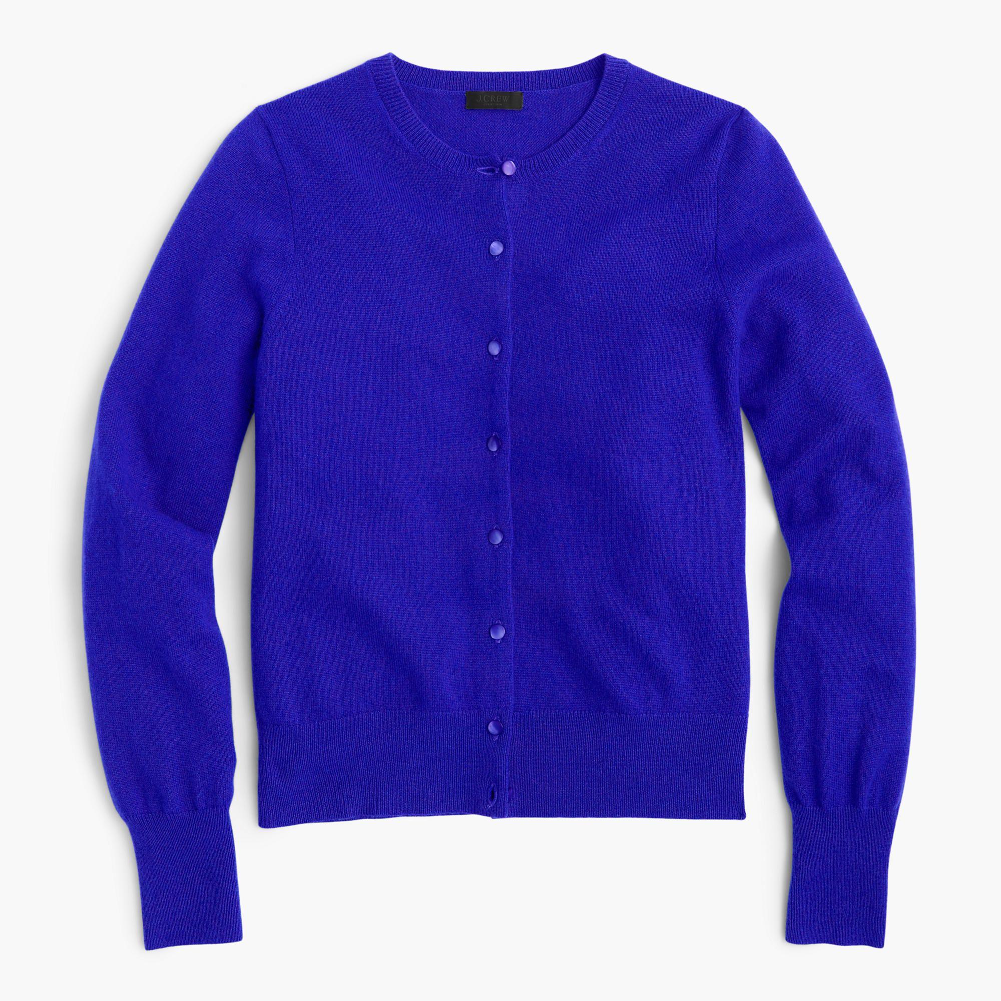 J.Crew Womens Italian Cashmere Cardigan Sweater (Size XXXS) | Cashmere