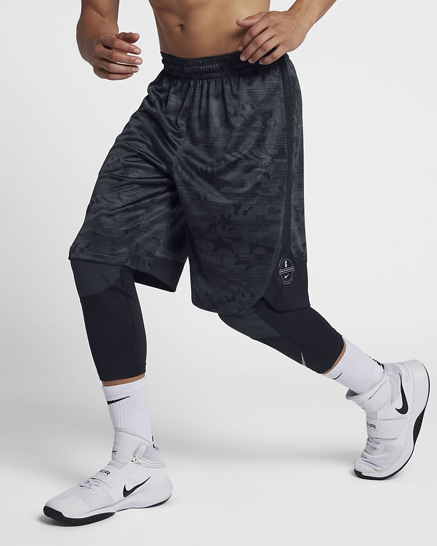 095156e56ac7 Nike Dri-FIT Elite Kyrie Men s Printed 11.5